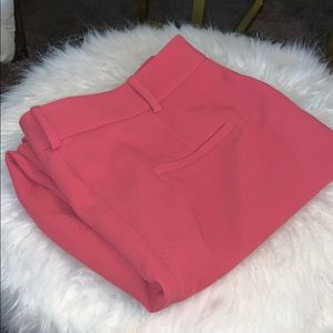 SALMON KICK FLARE BUSINESS ANKLE PANTS NWOT